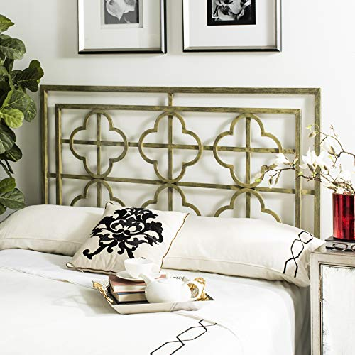 Safavieh Home Collection Lucina French Silver Headboard, Queen