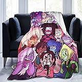 Wakaltk Steven Universe Throw Blanket Extra Soft Microfiber Fleece Blanket Fluffy Cozy Blanket for Couch Sofa Bed 50' X40