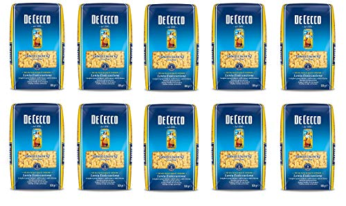 Lot de 10 tubes lisses Cecco No. 62 Italian Pâte 500 g