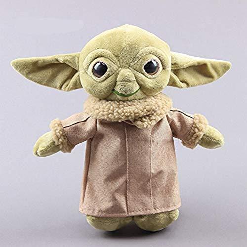 Xiulove Star Wars Baby Yoda Plüschtier, niedliche Kraft erwecken Meister Yoda Plüsch ausgestopfte Puppe, Kindergeburtstagsgeschenk 30cm