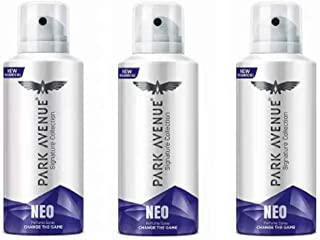 Park Avenue Neo Signature Collection Body Spray 130ML Each (Pack of 3) Deodorant Spray - For Men & Women (390 ml, Pack of 3)
