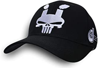 Diesel Power Rolling Coal Skull Punisher Black Hat