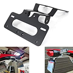 Fitment: for HONDA CRF450L 2019-2020 NO License Plate Light Included, Please Use the OEM One Compatible with OEM / Stock & Aftermarket Turn Signal (M10) Easy to install, Just Screw in with Your Wrench in Garage (The new batch of Packages Include Inst...