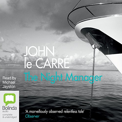The Night Manager audiobook cover art