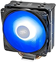 DEEPCOOL GAMMAXX GTE V2 CPU Air Cooler with 4 Heatpipes and a 120mm RGB PWM Fan 4-Pin 12V RGB Motherboard Control for Inte...