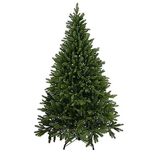 BB Sport Árbol Navidad Lujo PE/PVC Mixto 120 cm Verde Claro/Abeto Rojo Abeto Navidad Artificial Realista