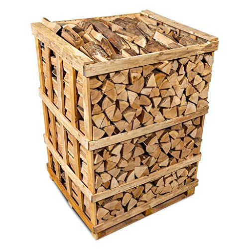 Logpile Kiln Dried Hardwood Firewood Logs. 800 Kg. Suitable for All Stoves, Fireplaces and Fires. Ready to Burn Accredited and Sustainably Sourced.