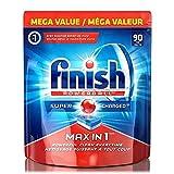 4 x Finish Geschirrspüler Tabletten All-in-1 Max Regular - 90 Stück