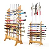 Everythingwushu Multi-Use Wushu Long Weapon Racks Sword Stands Martial Arts Swords Stands