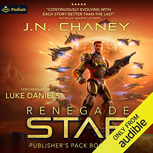 Renegade Star: Publisher's Pack 3 Audiobook By JN Chaney cover art