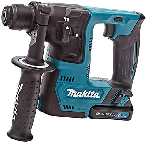Makita HR140DSAE1 Akku-Bohrhammer f. SDS+ 10,8V, 12 V, Schwarz, Blau