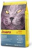 JOSERA Léger (1 x 10 kg) | Katzenfutter mit wenig Fett | für übergewichtige oder sterilisierte Katzen | Super Premium Trockenfutter für...