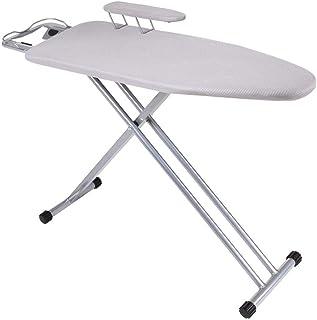 KangJZ Hogar Tablas de planchar Tablas de planchar de metal, fácil de plegar y transpirable Tablas de planchar Servicio de...