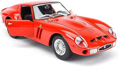 se descuenta AGWa Modelo de escala Vehículo de simulación rojo Modelo clásico clásico clásico Coche Aleación de simulación estática Coche deportivo Coche 1 24 Series Joyería Sello Cubierta de polvo  entrega de rayos