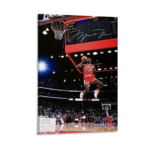 CHAOZHE Póster de Michael-jordan de la leyenda del baloncesto clásico Dunk in the all-star-weekend (30 x 45 cm)
