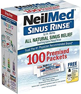 Best NeilMed Sinus Rinse All Natural Relief Premixed Refill Packets 100 Each Review