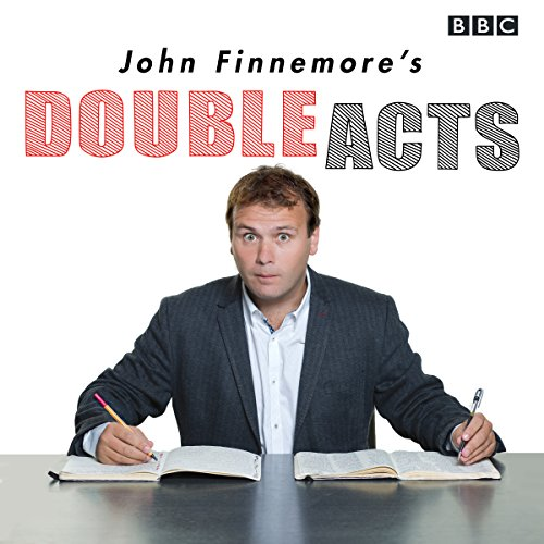 John Finnemore's Double Acts audiobook cover art