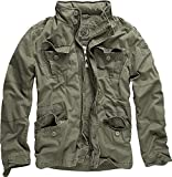 brandit Brandit Vintage Mens Military M65 Short Army Combat Light Field Jacket Parka olive xl