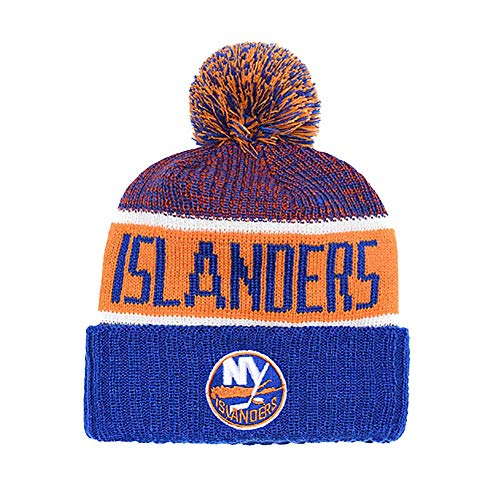Yajun NHL New York Islanders Strickmütze Warme Mütze Freizeit Soft Running Crochet Hats