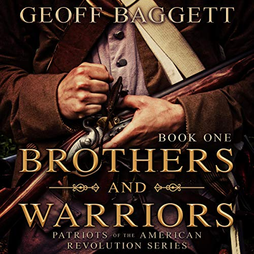 Brothers and Warriors audiobook cover art