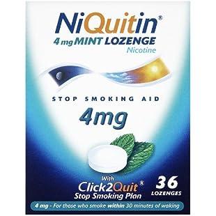 Niquitin Lozenges 4mg Mint - 36 Lozenges:Tytoftetsi
