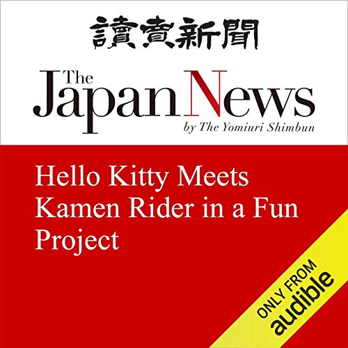Hello Kitty Meets Kamen Rider in a Fun Project cover art