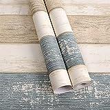 LZYMLG Impermeable PVC autoadhesivo papel pintado muebles renovación pegatinas dormitorio dormitorio sala TV fondo pared decoración papel pintado Grano de madera