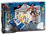 Mega Bloks Spiderman III Atraco Al Banco
