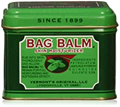 Lanolin Based Helps Keep Skin Smooth and Soft; Outstanding for cracked hands, cracked heals, elbows and dry knuckles Bag Balm works hard all year round, and works well; Lanolin enriched Bag Balm is a protective ointment that helps keep skin moisturiz...