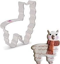 """Ann Clark Cookie Cutters Cute Llama/Alpaca Cookie Cookie Cutter, 4"""""""