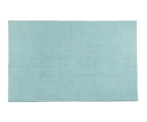 Gözze Mikrofaser Badteppich, 50 x 70 cm, Chenille, Mint, 1037-5532-050070