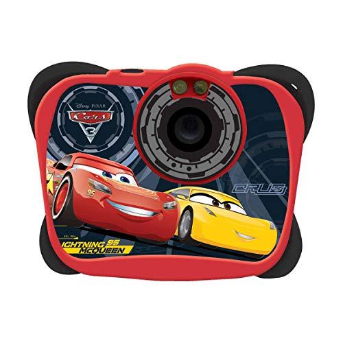 Cars DJ014DC Disney Cámara Digital, 1.3Mp, Funcion Vídeo Y Webcam (Dj134Dc) (Lexibook