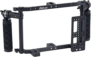 """INITZE Director's Monitor Cage with Adjustable Handles for 7""""and 9"""" LCDMonitors - JSQ-002"""