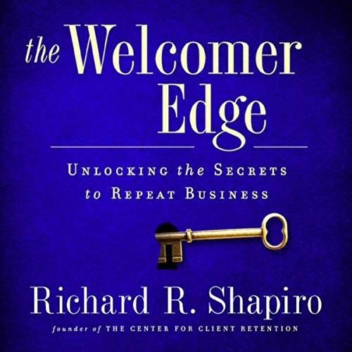 The Welcomer Edge audiobook cover art