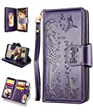 FLYEE Samsung S9 Case,Galaxy S9 Wallet Case, 9...