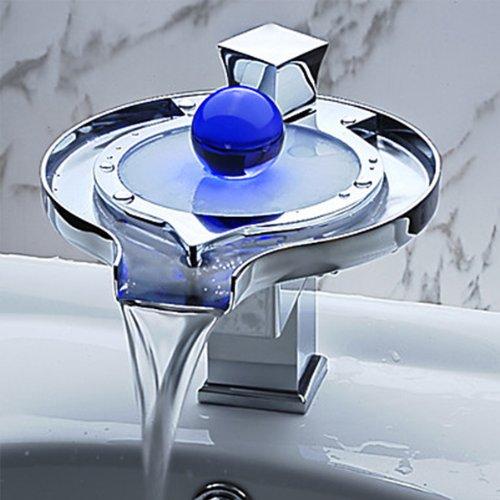 LED à changement de couleur pour robinet design...