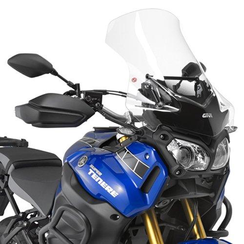 D2119ST|1182 Windschutzscheibe Visier Windschutz GIVI kompatibel mit Yamaha XT 1200 ZE SUPER TENERE 2018 Motorrad Scooter