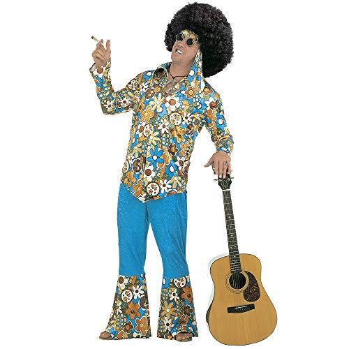 Costume Adulto Uomo hippie in velluto Taglia XXL