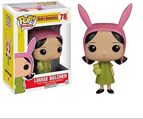 MEIQI Popolare! Louise Belcher Vinile da Collezione Classic Animated Series - Bob s Burgers