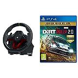 Hori Volante Apex inalámbrico (PS4/PC) + Koch Media Dirt Rally 2.0 Edición Juego del año PS4