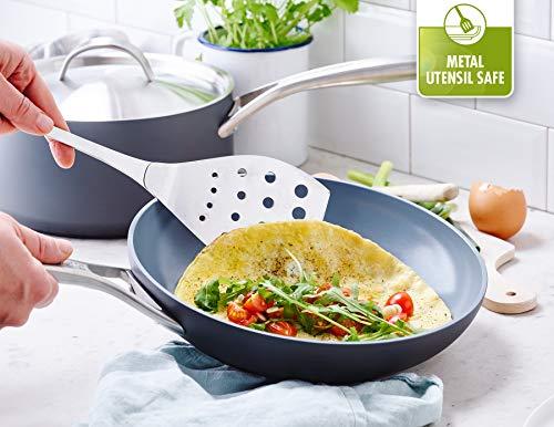 GreenPan Paris Pro 11pc Ceramic Non-Stick Cookware Set, Grey - CC000045-001