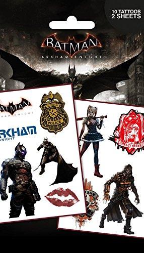 GB Eye Ltd, Batman Arkham Knight, Characters, Set de Tatouages