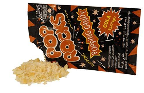 Pop Rocks Cola knisternde Zuckerware 50 Stück