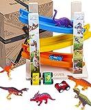 Juguete de Aparcamiento de Jaques de Londres con Dinosaurios - Juguetes de Coche niños y Juguetes para niñas - Juguetes y Juegos de Madera Desde 1795