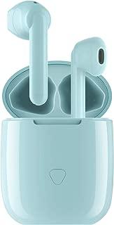 SOUNDPEATS TrueAir ワイヤレスイヤホン aptX&AAC対応 高音質 Bluetooth イヤホン 14.2mmドライバー採用 30時間再生 Type C 充電 Bluetooth 5.0 完全ワイヤレスイヤホン QCC3020チップセット搭載 TWS Plus ワイヤードイヤホン 自動ペアリング 両耳/片耳対応 小型 防水 スポーツイヤホン サウンドピーツ フルワイヤレス イヤホン iPhone/Android対応 [意匠登録証取得済、メーカー1年保証] (ブルー)