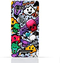 Lenovo A880 TPU Silicone Case With Funky Seamless Freak Texture.