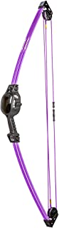 Bear Archery Spark Youth Bow Set Includes 2 Arrows, Armguard, Quiver, and Recommended for Ages 5 to 10