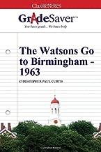 Best watsons go to birmingham book report Reviews
