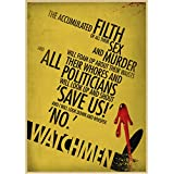 JQQBL Poster Watchmen Classic Movie Poster Bar Cafe
