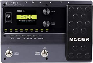 MOOER GE150 Electric Guitar Amp Modelling Multi Effects Pedal